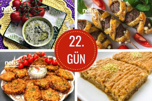 22. gün iftar menüsü