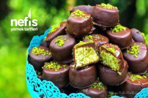Antep Fıstıklı Çikolatalı Kurabiye (Denemeyen Çok Şey Kaçırır) Tarifi