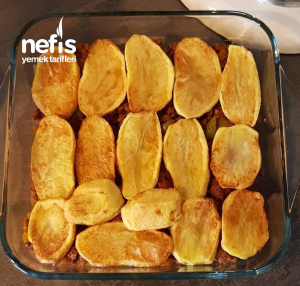 Beşamel Soslu Patates Oturtma