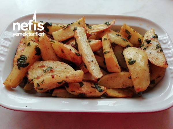 Cajun Baharatlı Patates