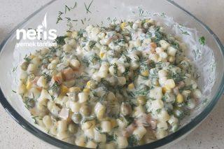 Dereotlu Makarna Salatası Tarifi