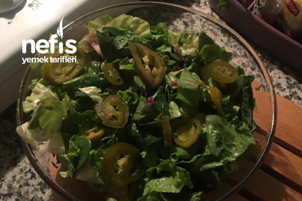 Kırmızı Lahana Turşulu Salata Tarifi