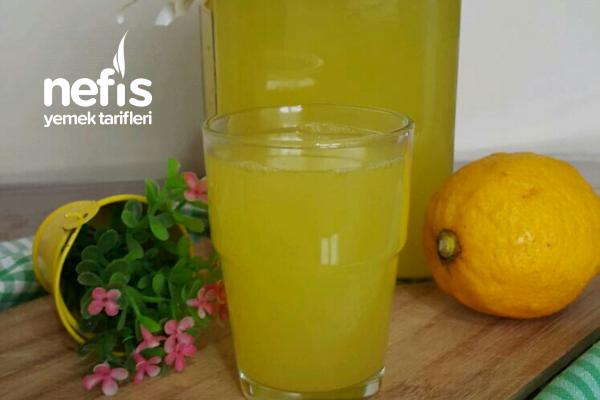 1 Portakal 1 Limon 3 Litre Limonata (Enfes Serinlik) Tarifi