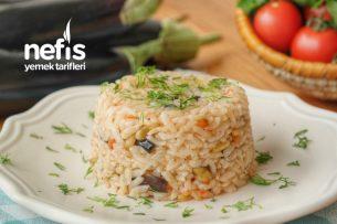 Bu Lezzet Kaçmaz! Patlıcanlı Pilav Tarifi (videolu)