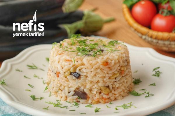 Patlıcanlı Pilav Tarifi (videolu)