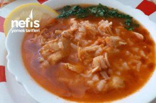 Ekşili Tavuk Çorbası (Çok Lezzetli) Tarifi