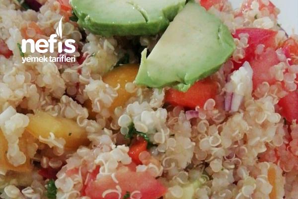 Kinoa Sağlıklı Salata (quinoa Salat) Tarifi