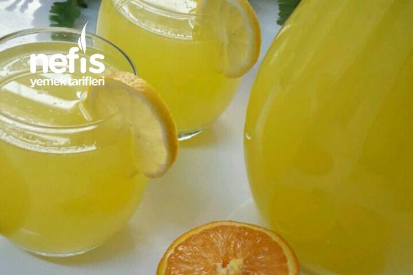 Ramazanda Buz Gibi Az Malzemeli Bol Limonata Tarifi