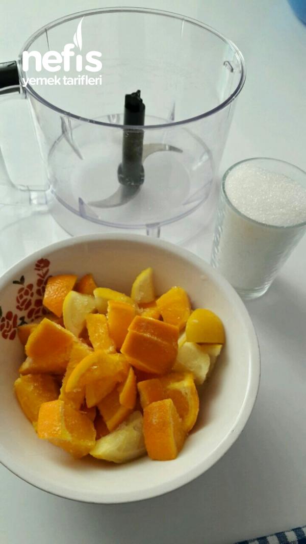 Ramazanda Buz Gibi Az Malzemeli Bol Limonata