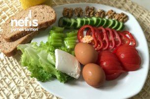 Sağlıklı Ve Tok Tutucu Sahur Kahvaltısı Tarifi
