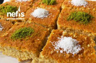 Şekersiz Portakallı Revani Tarifi