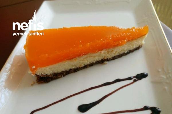 Teremyağlı Portakallı Cheesecake Tarifi