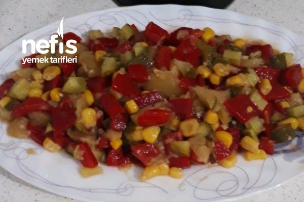 3 Dakika Salatası Tarifi
