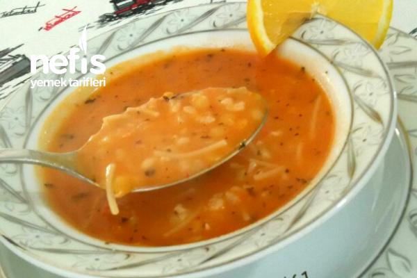 Ezogelin Çorbası 15 Dakikada Hazır Nefis Çorba Tarifi
