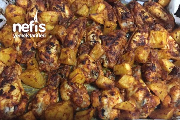Mangal Tadında Fırında Tavuk Tarifi