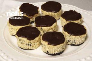 Oreolu Mini Cheesecake Tarifi