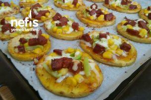 Sahur Önerisi Patates Pizzası (Videolu) Tarifi