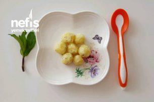 Bebe Patates Topları  7 Ay Tarifi
