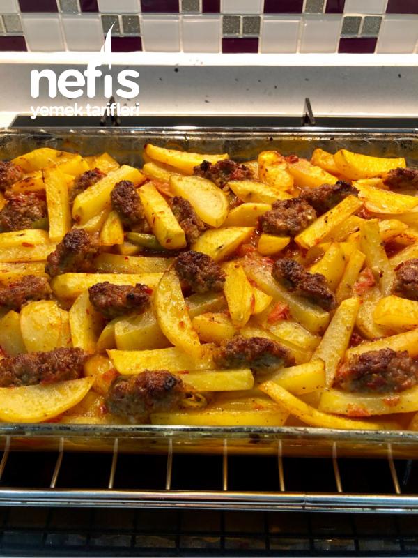 Harika Tadıyla Fırında Patatesli Köfte