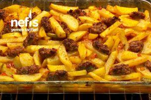 Harika Tadıyla Fırında Patatesli Köfte Tarifi