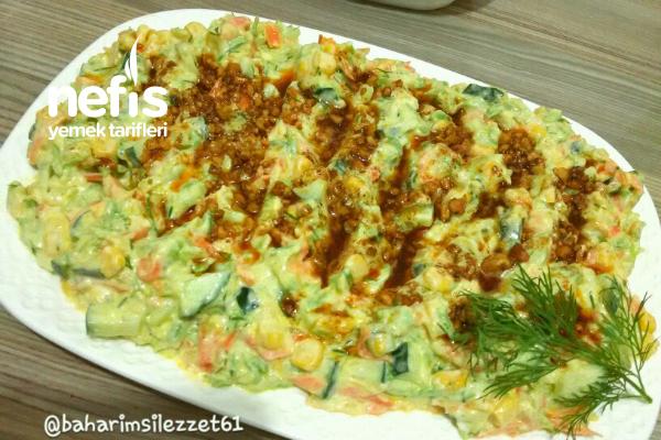Havuçlu Kabak Salatası muhteşem Bir Lezzet Tarifi
