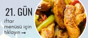 21. gün iftar menüsü