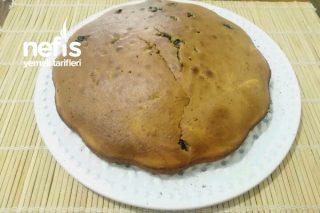 Kek Kalıbında Üzümlü Kek Tarifi