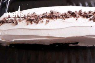 Muzlu Rulo Pastam ( Çok Pratik) Tarifi