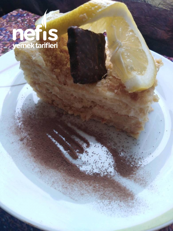 Napolyon pastası ( çok pratik)