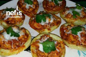 Patates Sandalında Tavuk Sote Tarifi