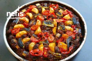 Patlıcan Ve Patates Kebabı Tarifi