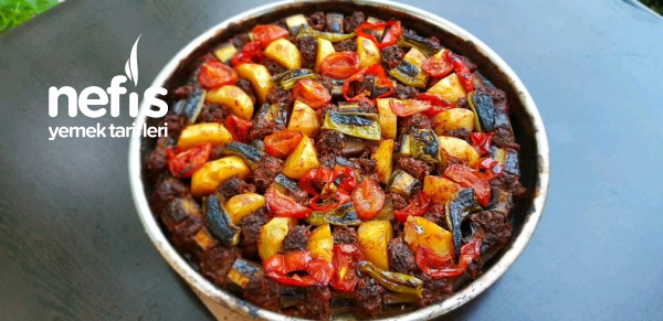 Patlıcan Ve Patates Kebabı