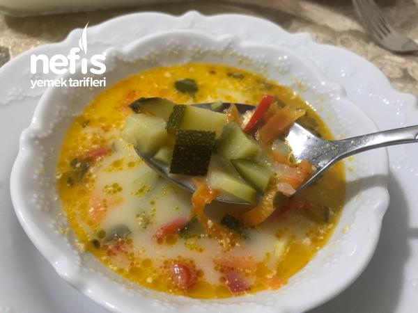 Sağlıklı Sebze Çorbası