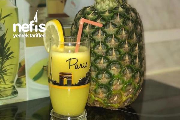 Ananaslı Zencefil Suyu Tarifi