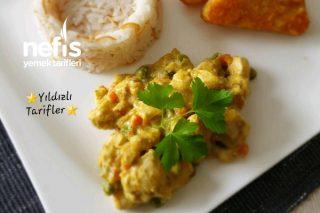 Curry Tavuk (Hähnchencurry,videolu) Tarifi