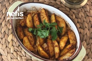 Fırında Baharatlı Patates Tarifi