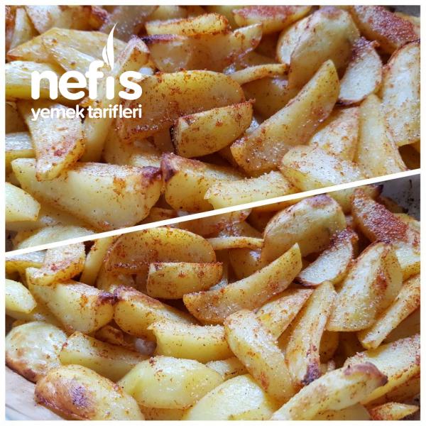 Fırında Baharatlı Patates (Nişastası Alınmış)