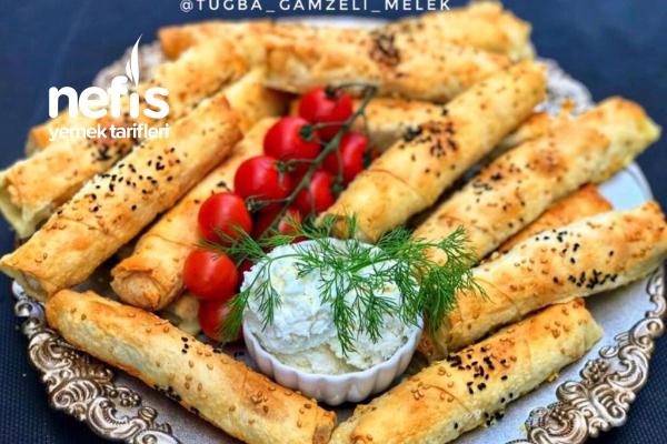 Fırında Pratik Çıtır Börek Nefis Lezzette Tarifi