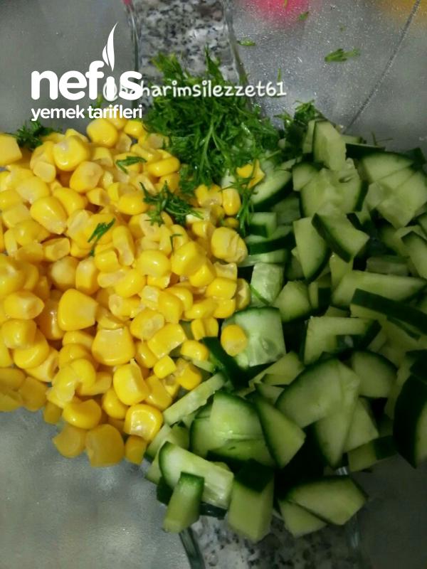 Havuçlu Kabak Salatası  muhteşem Bir Lezzet