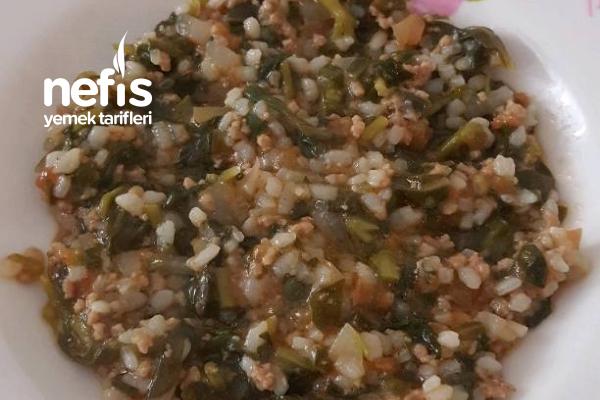 Kıymalı Semizotu Yemeği (8 ay) Tarifi