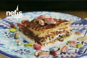 Sütlü, Çikolatalı Baklava Tarifi