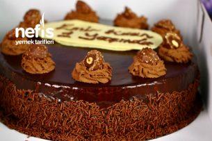 Çikolatalı Bomba Pasta (Tamamen Ev Yapımı) (Videolu) Tarifi