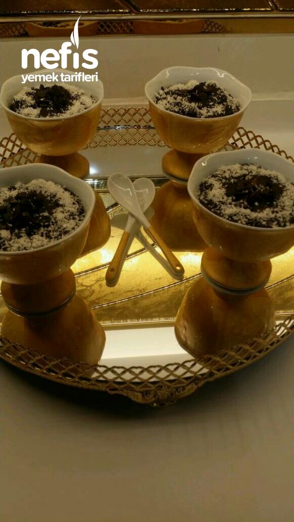 Enfes Ev Yapımı Kakao Puding