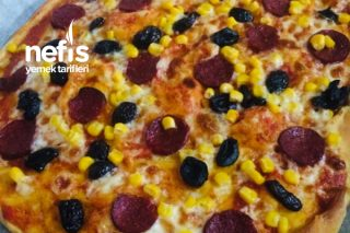 İnce Hamur Pizza Tarifi