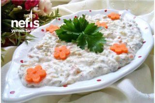Kaşık Kaşık Yedirten Garnitürlü Patlıcan Salatası Tarifi