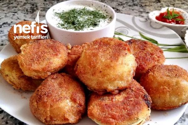 Peynirli Patates Püresi Halkası Tarifi