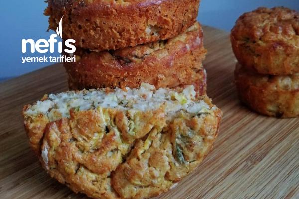 Tuzlu Kabak Muffin Tarifi