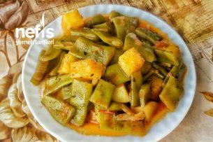 Yeşil Taze Fasulye Yemeği (Patatesli) Tarifi