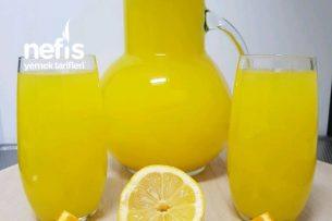 Acısız Ev Yapımı Limonata Tarifi