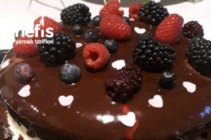 Çıplak Pasta (Naked Cake) Tarifi